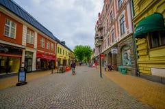 Kristianstad, cidade pitoresca no sul de Foto de Stock