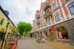 Kristianstad, picturesque city in the south of Stock Photo