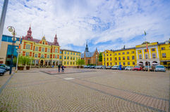 Kristianstad, picturesque city, Sweden Stock Photography