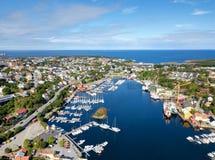 Kristiansund Норвегия стоковые фотографии rf