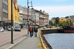 Kristiansund Royalty-vrije Stock Afbeelding