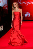 Kristin Cavallari walks the runway at the Go Red For Women Red Dress Collection 2015 Royalty Free Stock Image