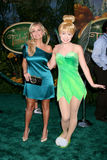 "Kristin Chenoweth. Tinkerbell & Kristin Chenoweth  arriving at the DVD Launch of ""Tinkerbell"" at he El Capitan Theater in Hollywood , CA on October 19, 2008 Royalty Free Stock Photo"