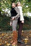 Kristina e Rebecca8 Fotografia Stock