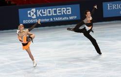 Kristina GORSHKOVA / Vitali BUTIKOV (RUS) Stock Photo