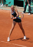 Kristina MLADENOVIC (FRA) at Roland Garros 2010 Stock Photography