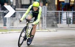 Kristjan Koren Team Cannondale - Garmin Royalty Free Stock Images