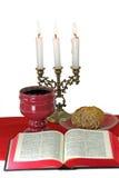 Kristna beståndsdelar på vit backgound Royaltyfri Foto