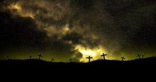 kristna kors Royaltyfri Bild