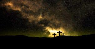 kristna kors Royaltyfri Fotografi