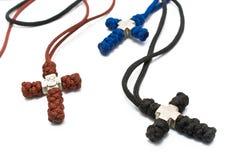 kristna kors stack tre Arkivbilder