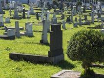 Kristna kyrkogårdar Royaltyfria Bilder