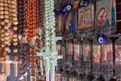 Kristna souvenir Arkivbilder