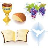 kristna symboler Arkivfoton
