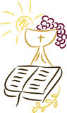 kristna symboler Royaltyfri Fotografi