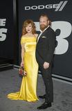 Kristofer Hivju. Norwegian actor, producer, and writer Kristofer Hivju, arrives for the New York City premiere of `The Fate of the Furious,` the action film Stock Photos