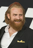 Kristofer Hivju. Norwegian actor, producer, and writer Kristofer Hivju, arrives for the New York City premiere of `The Fate of the Furious,` the action film Royalty Free Stock Photo