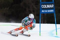 KRISTOFFERSEN Henrik (NOR). Alta Badia, ITALY 22 December 2013. KRISTOFFERSEN Henrik (NOR) competing in the Audi FIS Alpine Skiing World Cup MEN'S GIANT SLALOM Royalty Free Stock Image