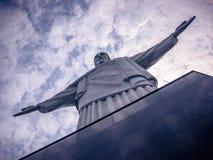 Kristus FörlossareRio de Janeiro Arkivfoto