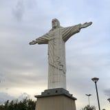 Kristus Förlossarestatyn av Jesus Arkivfoton
