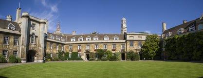 Kristus högskola i Cambridge Arkivbild