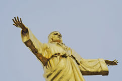 Kristus konungen omfamnar oss Royaltyfri Fotografi