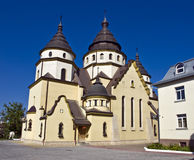 Kristus konungkyrkan Ukraina Royaltyfri Bild
