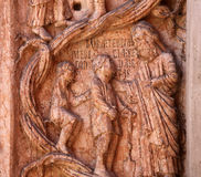 Kristus som utför arbeten av förskoning Royaltyfria Foton