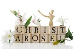Kristus uppstod! royaltyfria foton