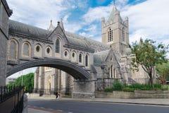Kristuschirstdomkyrka Dublin Arkivfoto