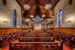 KristusEpiscopol kyrka av Raleigh Royaltyfria Bilder