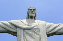 KristusFörlossare i Rio de Janeiro Arkivfoto