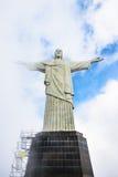 KristusFörlossare, Rio de Janeiro, Brasilien Royaltyfria Bilder