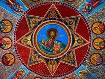 Kristusfrescoe Royaltyfria Foton