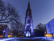 Kristuskyrka i Bochum Royaltyfria Foton