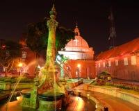 Kristuskyrka, Malacca, Malaysia Arkivfoto