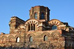 KristusPantocrator kyrka i den gamla staden Nessebar, Bulgarien Fotografering för Bildbyråer