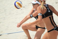 Kristyna Kolocova - beach volleyball Stock Images