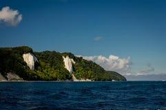 Kritaklippor på ön för RÃ-¼gen, Tyskland, Europa Fotografering för Bildbyråer