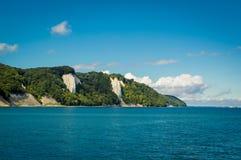 Kritaklippor på ön för RÃ-¼gen, Tyskland, Europa Arkivfoton