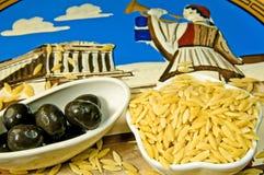 Kritharaki, Greek noodles Royalty Free Stock Photography