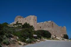 Kritinia castle Royalty Free Stock Photos