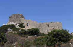 Kritinia Castle Royalty Free Stock Photography