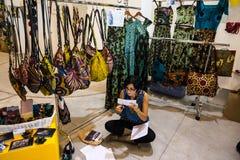 So kritische so Modeausstellung in Mailand am 20. September 2013 Lizenzfreies Stockfoto