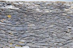 kritiserar det gammala taket för detaljgalicianen spain Royaltyfria Bilder