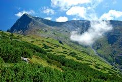 Krivan, высокое Tatras, Словакия Стоковое Изображение