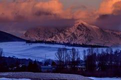 Krivan Berg Lizenzfreies Stockfoto