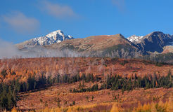 Krivan, High Tatras in autumn, Slovakia royalty free stock photo