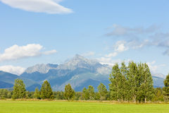 Krivan Mountain, High Tatras Stock Image