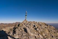 Krivan summit national mountain of Slovakia Royalty Free Stock Images